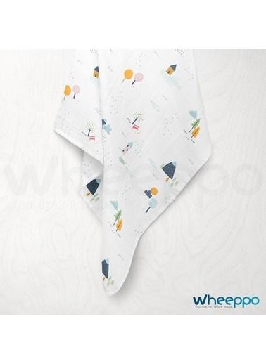 Wheeppo Çiftlik  Müslin Örtü  120*120 Cm Renkli